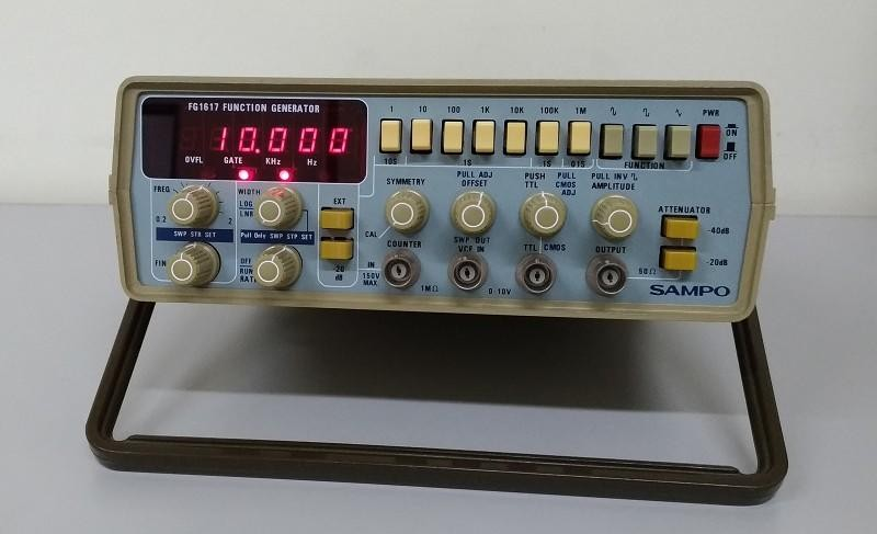SAMPO FG1617 FUNCTION GENERATOR 函數波產生器